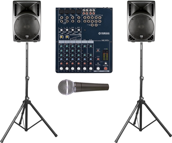 audio presentation pa speaker package rentals orlando florida
