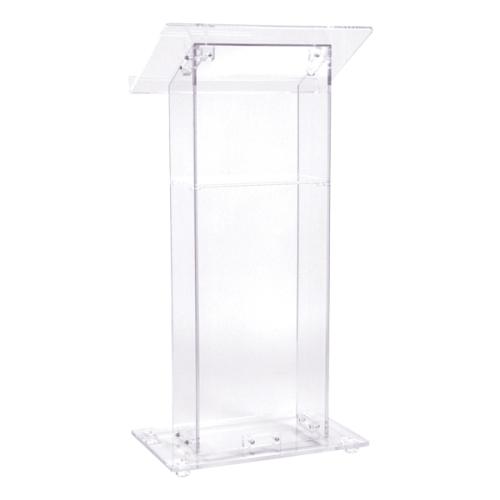 clear acrylic podium rental orlando