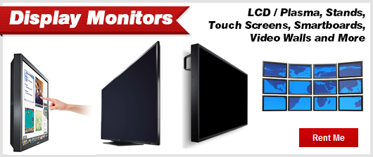 Display Monitor Rentals