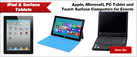 iPad and Surface Tablets