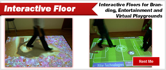 Interactive Floor Displays