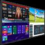 98″ 4K Touchscreen monitor rentals – Planar UR9851 98 inch