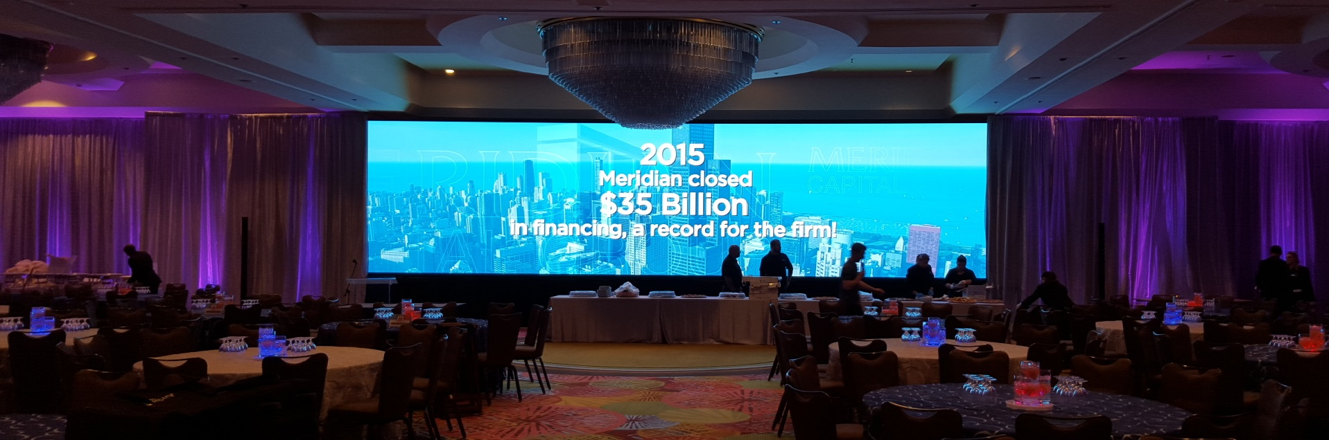 LED Video Wall rentals for hire of Orlando Florida